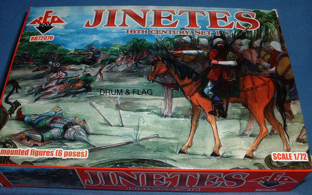 Copy of REDBOX 72076 - JINETES Set 1 - 16th Century - 1/72 SCALE