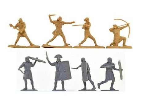 TSSD #22 ROMANS & BARBARIANS ADD-ON SET. c60mm Unpainted Plastic