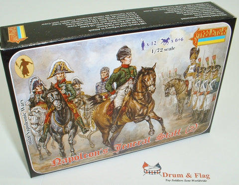 Strelets Set 48 - Napoleon's General Staff #(2) - 1/72 scale