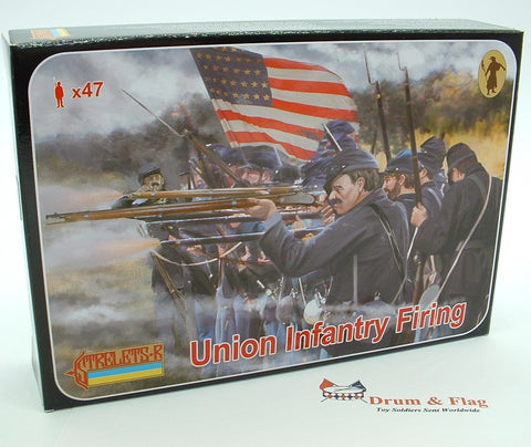 Strelets Set 159 - Union Infantry Firing - American Civil War. 1/72 scale