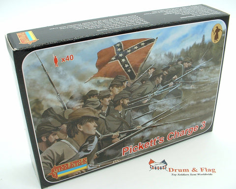 Strelets Set 178 - Pickett's Charge #3 - Confederate - American Civil War. 1/72 scale