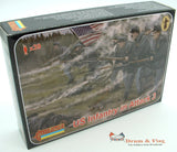 Strelets Set 179 - US Infantry in Attack - Union - American Civil War. 1/72 scale