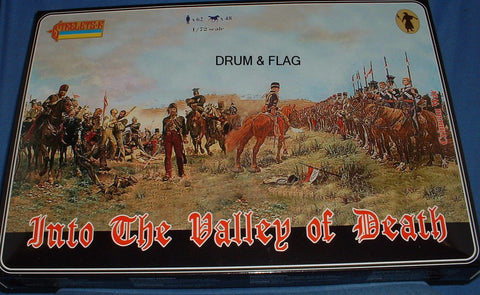 STRELETS 901 - Into the Valley of Death. Crimean War British Cavalry. 1/72 Scale