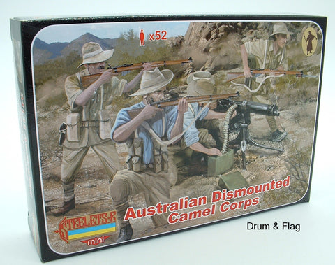 Strelets Set M 131 - Australian Dismounted Camel Corps - WW1. 1/72 scale