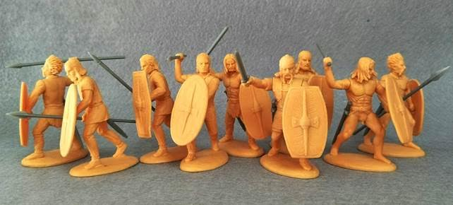 Expeditionary Force 60 CTB 01. Celtic Warband Infantry - 60mm