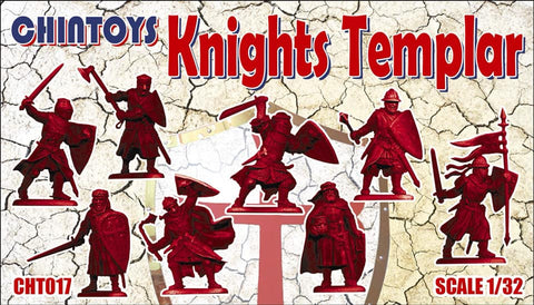 CHINTOYS cht017 KNIGHTS TEMPLAR - 1/32 SCALE