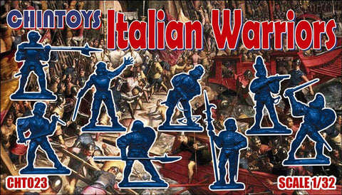 CHINTOYS cht023 Italian Warriors. 16th Century - 1/32 Scale