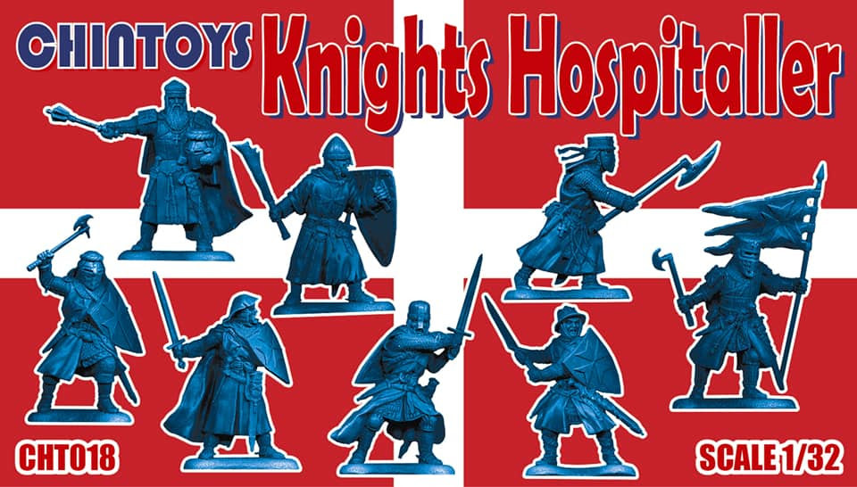 CHINTOYS cht018 KNIGHTS HOSPITALLER - 1/32 SCALE