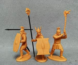 Expeditionary Force 60 CTB 04. Celtic Tribal Command - 60mm - Future Release Preview