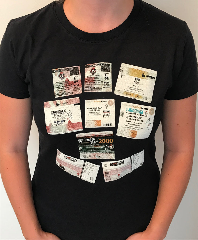 Women's Wembley Ticket T-Shirt