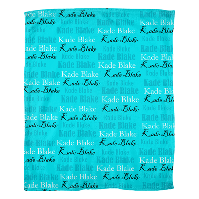 Kade Blake Fleece Blanket