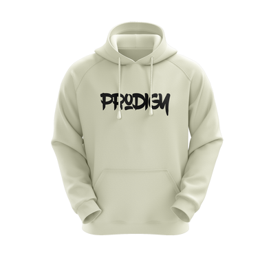 ProdigyGG Hoodie - White - Middle Text