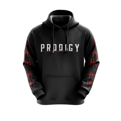 ProdigyGG Hoodie - Black - Middle Text