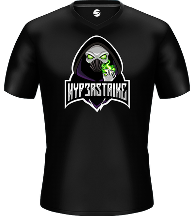 hyp3rstrike Basic Black Jersey - Middle Logo