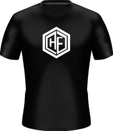 Heavy Force Gaming Black Basic Jersey - Middle Logo