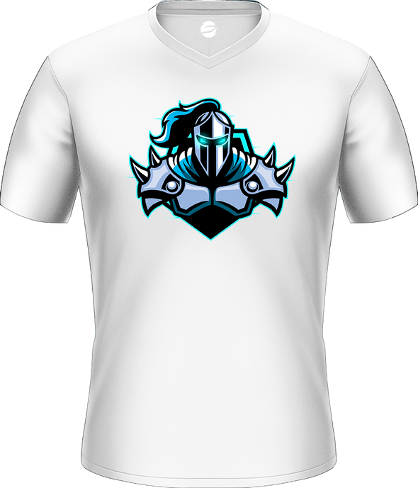 Raging Knights White Basic Jersey - Middle Logo