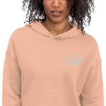 Crop Hoodie (Embroidered)