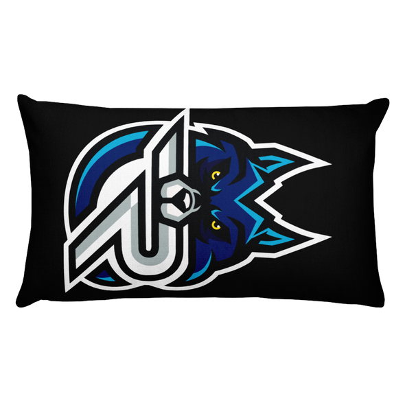 Rapid eSports Rectangular Pillow With Stuffing - Black