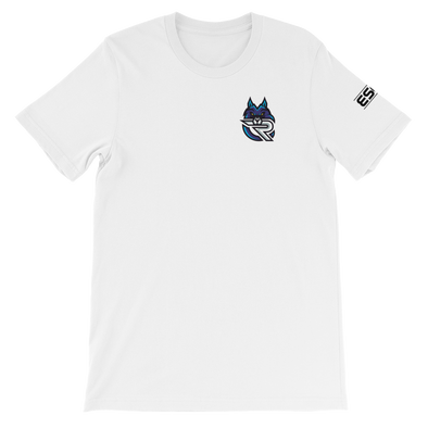 Rapid Esports White Unisex T-Shirt - Pocket Logo