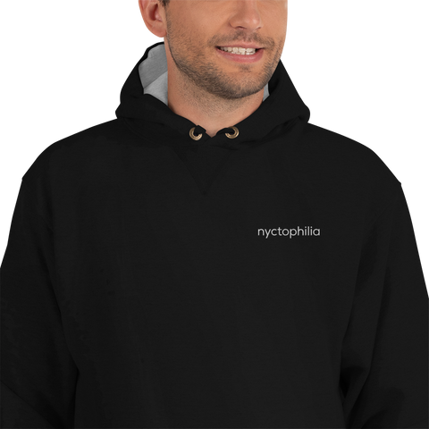 Nyctophilia Champion Hoodie (Embroidered)