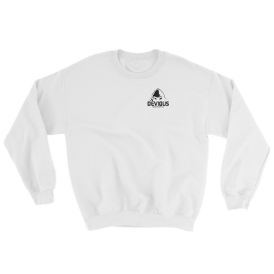 Devious eSports White Sweatshirt - Pocket Logo