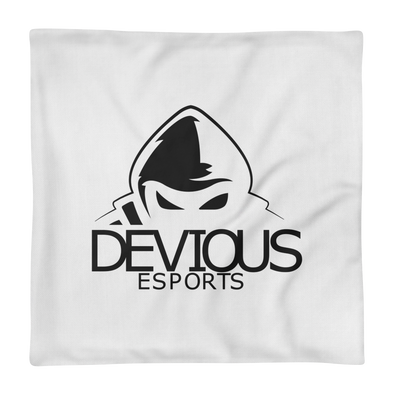 Devious eSports White Pillow Case - Case Only