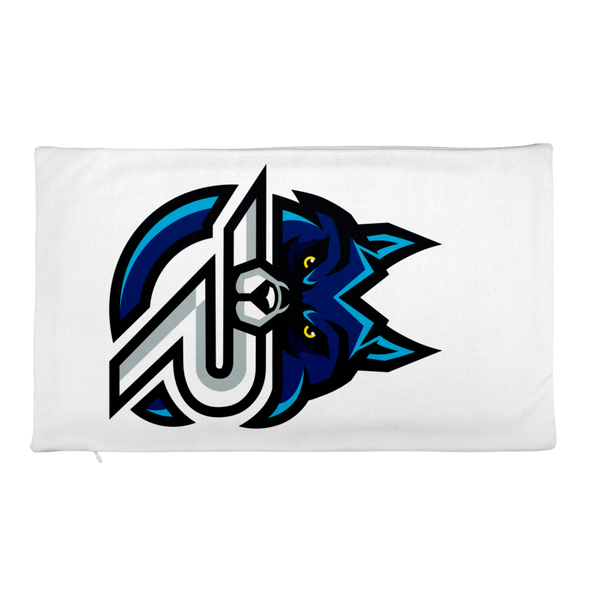 Rapid eSports Rectangular Pillow Case Only - White