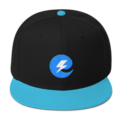 Extricity Esports Blue Embroidered Snapback Hat