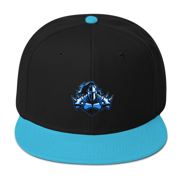 Raging Knights Blue Embroidered Snapback Hat