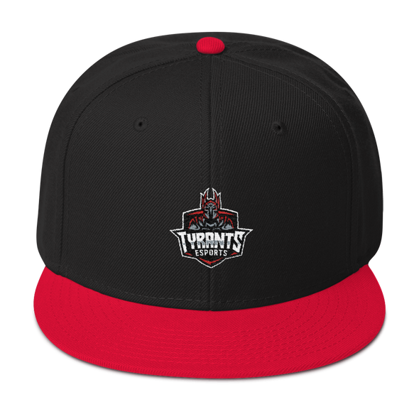 Tyrants Esports Embroidered Snapback Hat