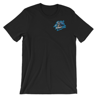 KnightESC Short-Sleeve Unisex T-Shirt - Black