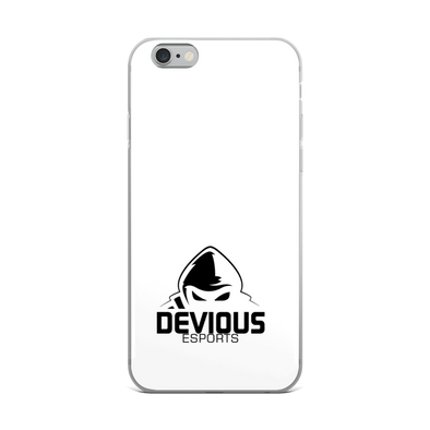 Devious eSports iPhone Case - White