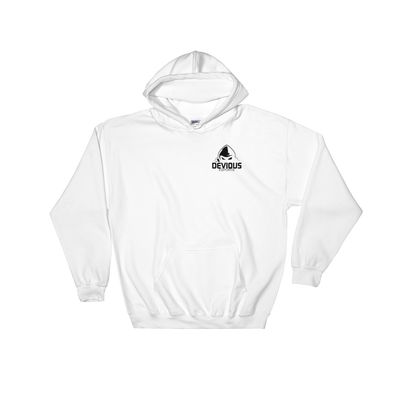 Devious eSports White Hooded Sweatshirt - Pock Logo