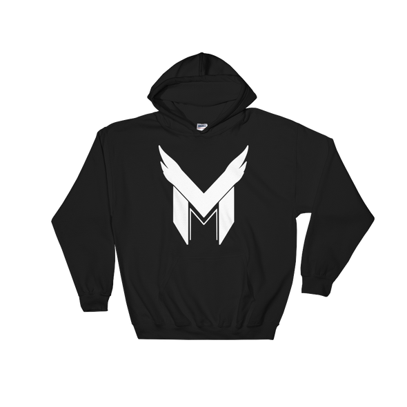 Team Mavarity Black Hooded Sweatshirt - Middle Logo
