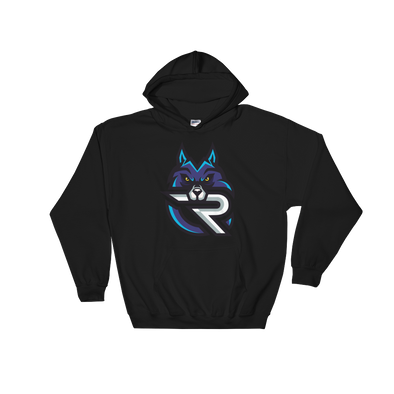 Rapid Esports Black Hooded Sweatshirt - Middle Logo