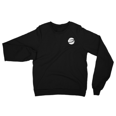 ESGO Basic Black Unisex Fleece Sweatshirt