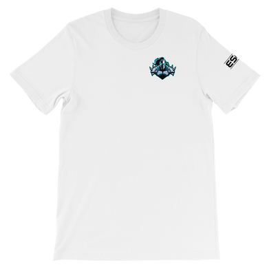 Raging Knights White Unisex T-Shirt - Pocket Logo