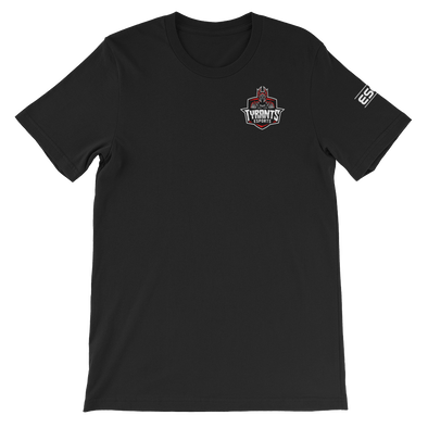 Tyrants Esports Black Unisex T-Shirt - Pocket Logo