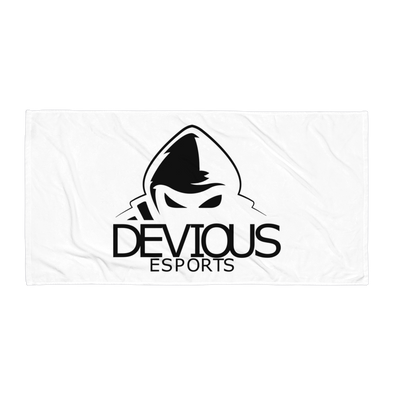 Devious eSports Towel - White