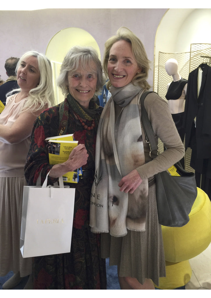 Fundraising for The Born Free Foundation at La Perla's Knightsbridge Boutique