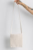 Cream Crochet Sling Bag