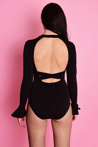 Wild Thoughts Open Back Bodysuit
