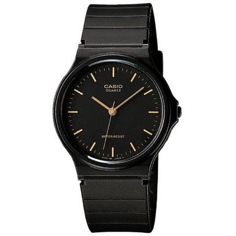 CASIO - BLACK ANALOG WRIST WATCH