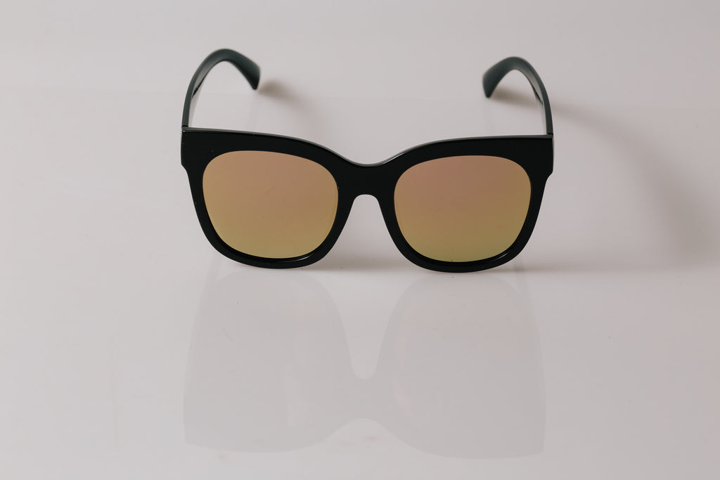 She wolf Oversized - Sunnies (Rose Gold)