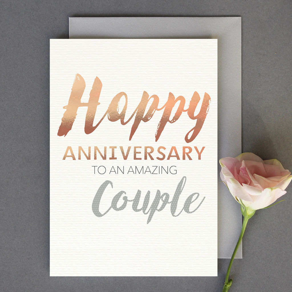 Anniversary Couple