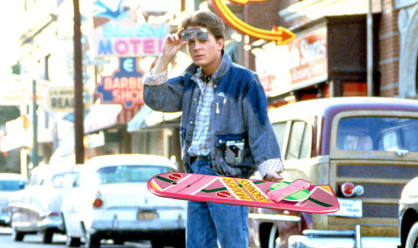 Image result for marty mcfly hoverboard