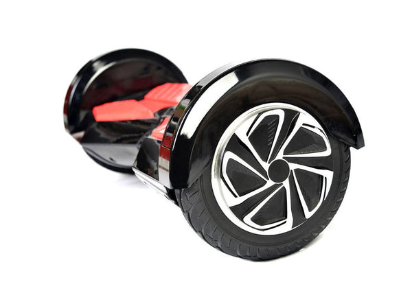"Black & Red 8"" Swegway Hoverboard (Bluetooth)"