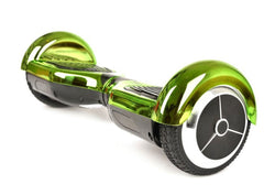 "Green 6"" Chrome Swegway Hoverboard (Bluetooth)"