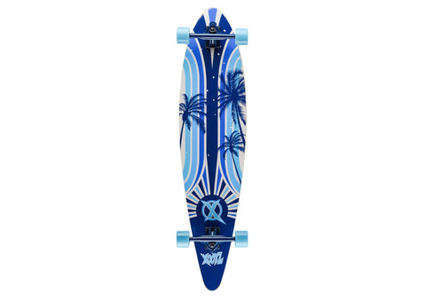 "Island Print Xootz Kids Double Kick Skateboard (40"")"