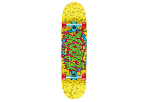 "Slime Print Xootz Kids Double Kick Skateboard (31"")"